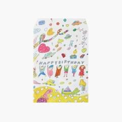 [AIUEO] Paper pack - BIRTHDAY