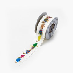 [AIUEO] Masking tape katanuki - kasatsumuri