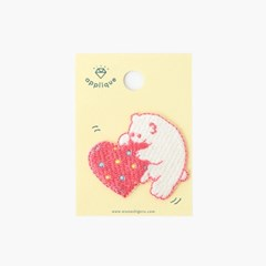 [AIUEO] Applique S  - polar bear