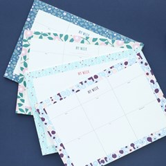 PROMENADE WEEKLY DESK PAD_ 30 WEEKS