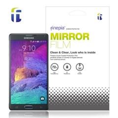 파인피아  삼성전자 Galaxy Note4 용  Mirror(미러) 액정보호필름