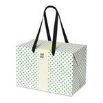 PLUSBOX GIFT BAG (Green Polka Dot)