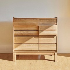 urbanworks basic oak drawer - two way