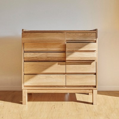 urbanworks basic oak drawer - two way