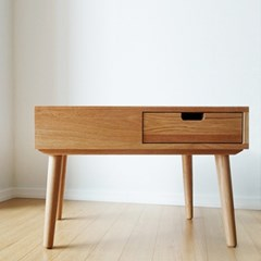 urbanworks basic oak side table
