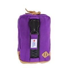 [gym master] 짐마스터 스웨트 메가짚 크로스백 Purple