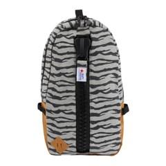 [gym master] 짐마스터 메가짚 스웨트 데이팩,백팩 Zebra