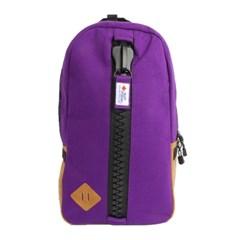 [gym master] 짐마스터 메가짚 스웨트 데이팩,백팩 Purple