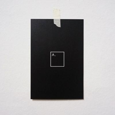 A.POSTCARD BLACK