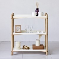 Cross Shelf 3단_White