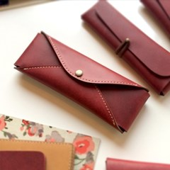 Pencil Case_Two Ways [French Claret]
