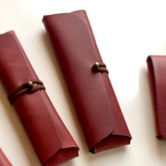 Pencil Case_Cross Folding Deluxe [French Claret]