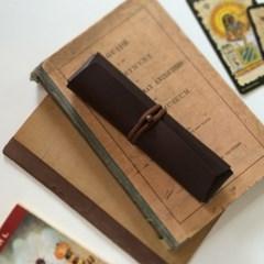 접이식 필통. 펜파우치 [핫쵸코]/ Pencil Case_Cross Folding