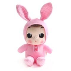 뚱(ddung) 동물 봉제인형-토끼(18cm)