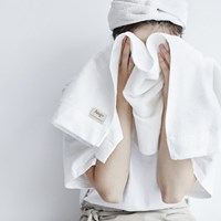 hug+face 200g 대나무섬유 페이스타월