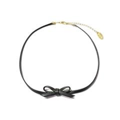 bpb ribbon choker - black