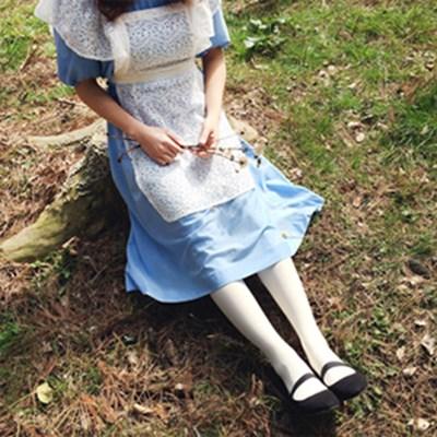 레이스 프릴 에이프런 : lace frill apron