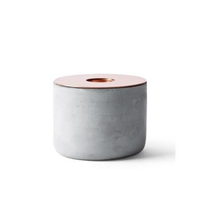 Chunk Concrete Candleholder M