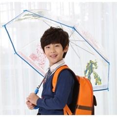 트랜스포머 투명우산 53 고급형/단체선물/아동 장우산/비닐우산