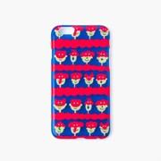 [아이폰6/6S] AIUEO iPhone Case - animal mask BL X RD