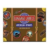 스타일리시한 테마별 빈티지 스티커 - LB-11684 American byways