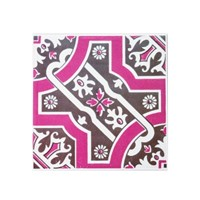 Decolfa 타일 스티커 - 핑크 (M4000)