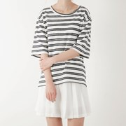 side stripe T-shirt