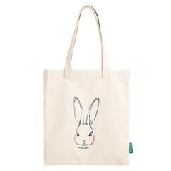 [옐로우스톤] 에코백 vintage eco bag - YS2015RB 베이지 토끼