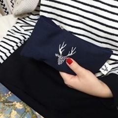 Initials deer pen case