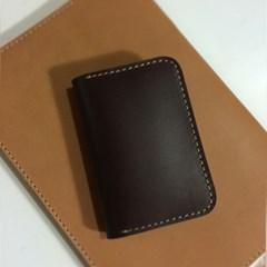 멀티포켓 카드지갑 / Card Purse_with Multi Pocket [핫초코]