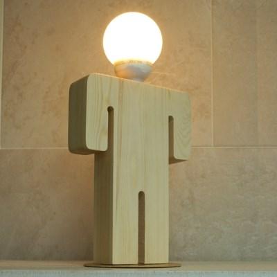 [LAMPDA] M피플 원목 스탠드