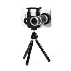 x8배율 망원렌즈 스마트폰 삼각대