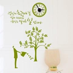 jkc088-꿈꾸는 나무_그래픽시계