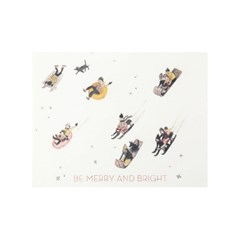 [Red Cap Cards] Be Merry and Bright