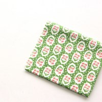 NSCR/ 1마/ 코튼] #2 Apple Green Flower Cotton_베베네 빈티지