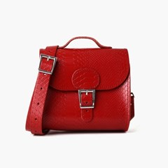 Brit-Luxe Shoulder Vintage Red