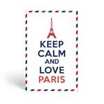Keep calm and love paris_fresh linen(프레쉬린넨향) 종이방향제