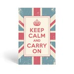keep calm and carry on_musk (머스크향) 종이방향제