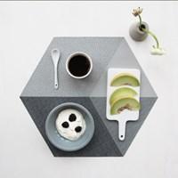 Polygon Placemat (실리콘재질 폴리곤 테이블매트) - Concrete