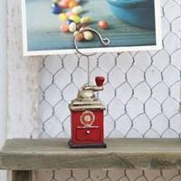 내츄럴 레트로머신 사진홀더 겸용 메모홀더-커피그라인더