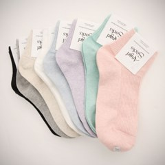 Low cotton-socks(8color)