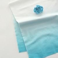 NS/ 1마/ 스카이]  Sky Blue Gradation Double Border Cotton