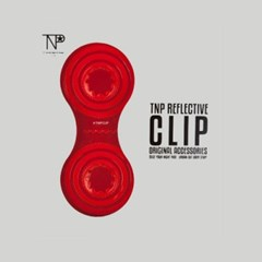 TNP SOLID REFLECTIVE CLIP [RED]
