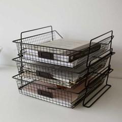 Wire paper basket