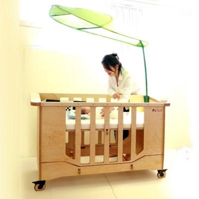 JWK 3단계 유아용 이동식 침대 아엠유어파더