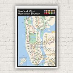 GN0798 뉴욕 맨하튼 지하철