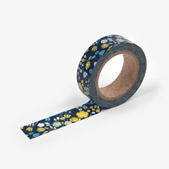 Masking Tape single - 21 Wedding bouquet : navy