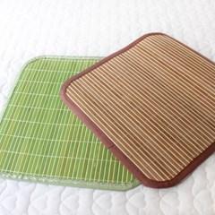 [한일카페트] 플레인 대나무 방석 45x45