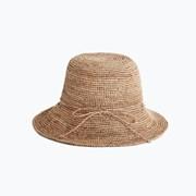 [3color] handmade raffia hat