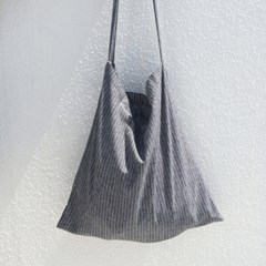 Easy Bag Square (NATURAL STRIPE)